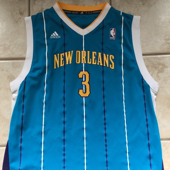 quality design 5af64 5eb0e New Orleans Chris Paul Hornets jersey.
